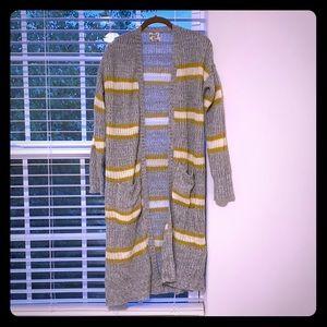 Oversized long cardigan